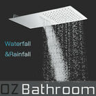 304 stainless steel Rainfall / Waterfall SHOWER HEAD 550X250X2.2mm shower