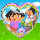 dora birthday decorations - DORA Explorer Foil Balloons Heart Decorations Shower Birthday Party Supplies lot