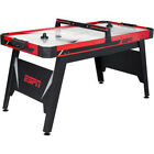"ESPN 1616003 60"" Air-Powered Hockey Table Wtih 110V UL Certified Motor Blower"