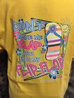 Don't Make Me Slap you with my Flip Flop! T-Shirt American Girls Sassy Beach -b
