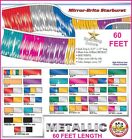 Metallic Streamers 60 Feet - Choose Your Color