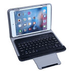Leather Bluetooth 3.0 Keyboard stand Case For 7* 8* 7.9* ipad mini Tablet
