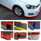 Rubber Front Bumper Edge Strip Chin Protection Side Skirts Spoiler - Fits Gre...