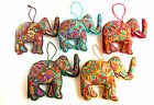 Embroidered Elephant, Fair Trade, Home Decor, Assorted Colours, Gift, Elephants