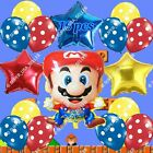 SUPER MARIO BROS Game S-B Mylar Foil Balloon Birthday Party Favors Supplies lot