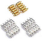 10 Sets Silver/Gold Plated Oval Magnetic Clasps Connectors For Jewelry MakingLAU