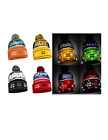 NFL Football Team Logo Wordmark Light Up Beanie - Pick Your Team!