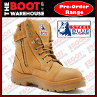 Steel Blue 'Southern Cross Zip'  312661. Steel Toe Cap Safety Work Boots.