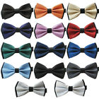 Coachella Ties Adjustable Two Tone Bowtie Jacquard Adults Butterfly Bow Tie