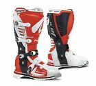 Forma Predator Motocross Enduro Offroad Trail Riding Boots White Red