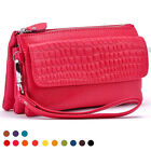 Easy Carry Genuine Leather Shoulder Wallet Women Purse Clutch Bags