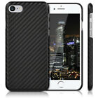 kwmobile  HARDCASE PROTECTION CASE WITH CARBON COVER FOR APPLE IPHONE 7 BACK