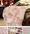 Personalised Valentine's Gift for Her Him Wife Husband Embroidered Blanket Throw