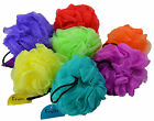 FRUITS  SCRUNCHIE BODY PUFF  110mm Diameter  EXFOLIATING  SPONGE BATH MOP SHOWER