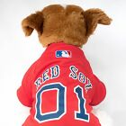 Boston Red Sox Dog Jersey MLB Baseball Officially Licensed Pet Product