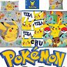 Official Pokemon Go Single Panel/Rotary Duvet Cover Bed Sets New Gift 3 Designs