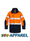 BISLEY WORKWEAR TAPED TWO TONE HI VIS FR JACKET (BJ8100T)