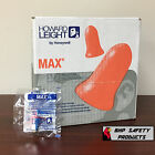 HOWARD LEIGHT BY HONEYWELL DISPOSABLE FOAM EARPLUGS SLEEP AID PLUGS PACK SIZES