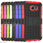 Stand Armor Heavy Duty Hybrid Case Cover Skin For Samsung Galaxy S6