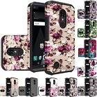 For LG Aristo LV3 Slim Shockproof Hybrid Phone Case Protective Cover