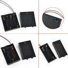 2/3/4 x AA Plastic Battery Holder Case Box With Cover ON/OFF Power Switch & Wire