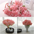 New Artificial Silk Flowers Craft Hydrangea Wedding Home Decor Fake Bridal Gifts