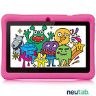 """neutab 7"""" Tablet PC 8GB Android 5.1 Quad Core WiFi Dual Cam Bundle for Kids Gift"""