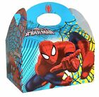 6 x Marvel Ultimate Spider-Man Kids Birthday Party Food Bag Gift Box 395-753
