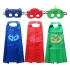 Children Kids Superhero Dress Costume Cape Mask Super Hero fancy halloween * cos