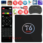 Android 7.1 S905X T6 Smart TV Box 2.4G WIFI Quad Core True 4K Playing +Keyboard
