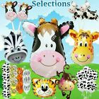 HUGE COW ANIMAL BALLOONS Barnyard Jungle Safari Shower Birthday Party Supply lot
