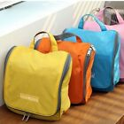 Ladies Mens Wash Folding Travel Cosmetic Hanging Toilet Makeup Bag Zipper