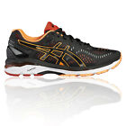 ASICS Gel-Kayano 23 Mens Black Support Running Road Sports Shoes Trainers