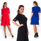 Short Sleeve Womens Casual Short Mini Dress Evening Party Cocktail Prom Gowns