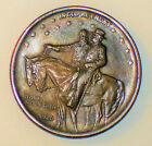 1925 RAINBOW TONED STONE MOUNTAIN SILVER COMMEMORATIVE HALF DOLLAR