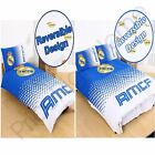 REAL MADRID CF FADE DUVET COVER SETS SINGLE AND DOUBLE FOOTBALL BEDDING NEW