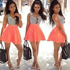 Womens Summer Short Mini Dress Causal Party Cocktail Swing Holiday Beach Dresses