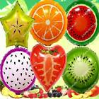LARGE TROPICAL FRUIT SMOOTHIE FOIL BALLOON S-A LUAU BIRTHDAY PARTY SUPPLIES lot