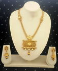 Assorted Design Gold Plated Indian Bollywood Fashion Jewelry Necklace Set