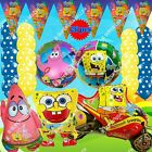 PARTY SUPPLY SETS SPONGEBOB SQUAREPANTS Balloons Nickelodeon Shower Birthday A