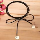 Fashionable Synthetic Leather Necklace Women Neck Chain Round Choker Hot Sale