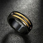 New European and American Fashion Accessories Stainless Steel Men's Ring LAUS