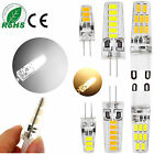 G4 G9 3W 5W 6W 5733 SMD LED Lights Silicone Crystal Lamps Cool Warm White Bulbs