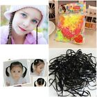 100pcs Women Girl Rubber Hairband Rope Ponytail Holder Elastic Hair Band Acces