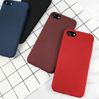 Simple Ultra-thin Matte Soft TPU Back Case Cover For iPhone 5 5S 6 6S 7 Plus