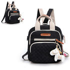 New Women Ladies Casual Backpack Rucksack Canvas Shoulder Bags Shopping Satchel