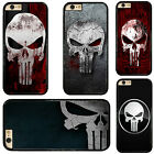 The Punisher Skull Pattern Plastic Hard Phone Case Cover Fits For iPhone Samsung