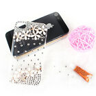 Credit Card Wallet Case Zipper Flip Cover Synthetic Leather For iPhone 4 4S