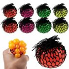 Sensory Squishy Mesh Ball Grape Anti Stress ADHD Relief Squeeze Abreaction Toy
