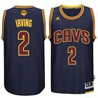 Kyrie Irving Jersey Cleveland Cavaliers #2 Navy Blue Swingman Away Mens Basket